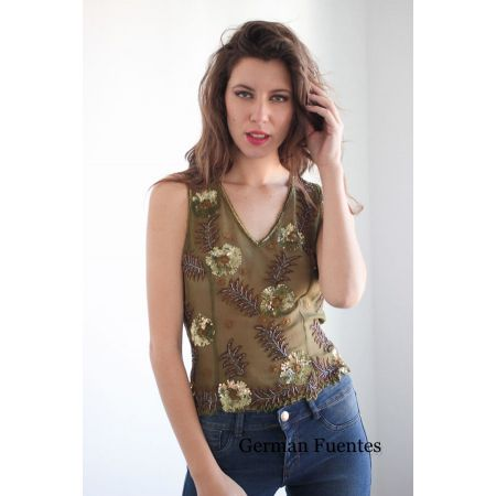 2115 OLIVE Evening Top