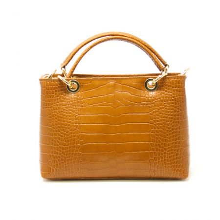 GF114050 LEATHER HANDBAG